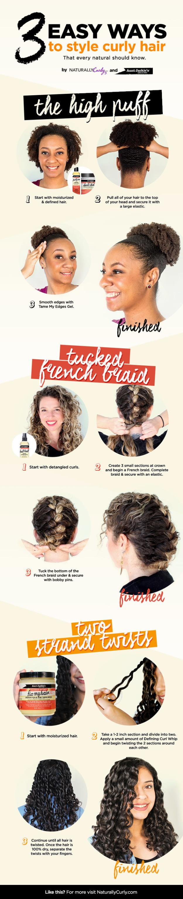 charts anyone who sucks at hair will appreciate curly