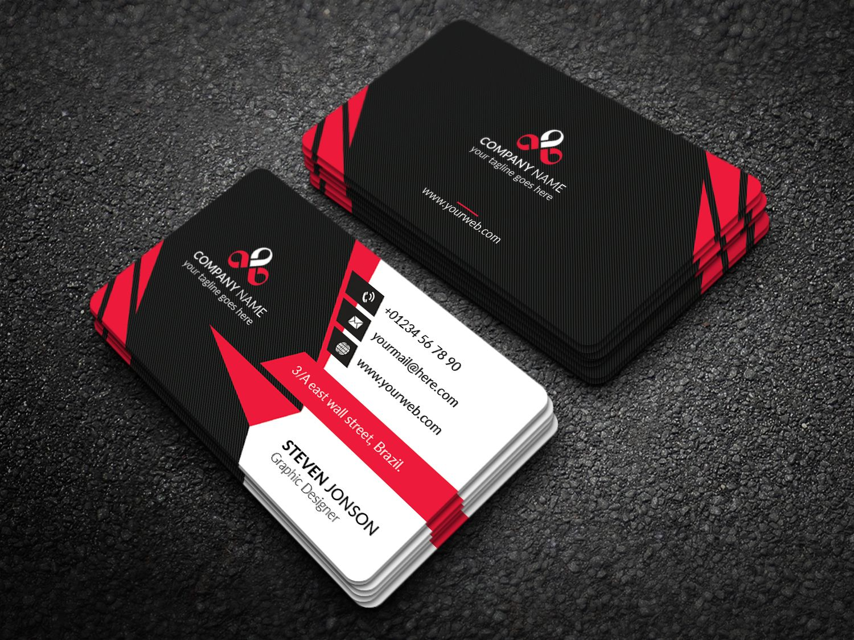 Web Developer Business Card Corporate Identity Template Business Business Cards Corporate Identity Graphic Design Business Card Business Card Design Creative