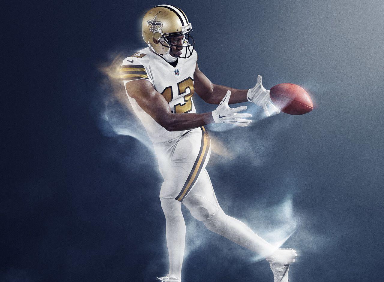 color rush jersey saints
