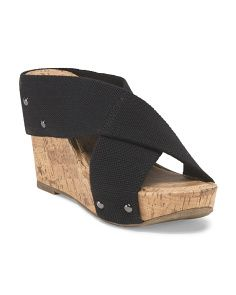 image of Oceane Wedge Sandal