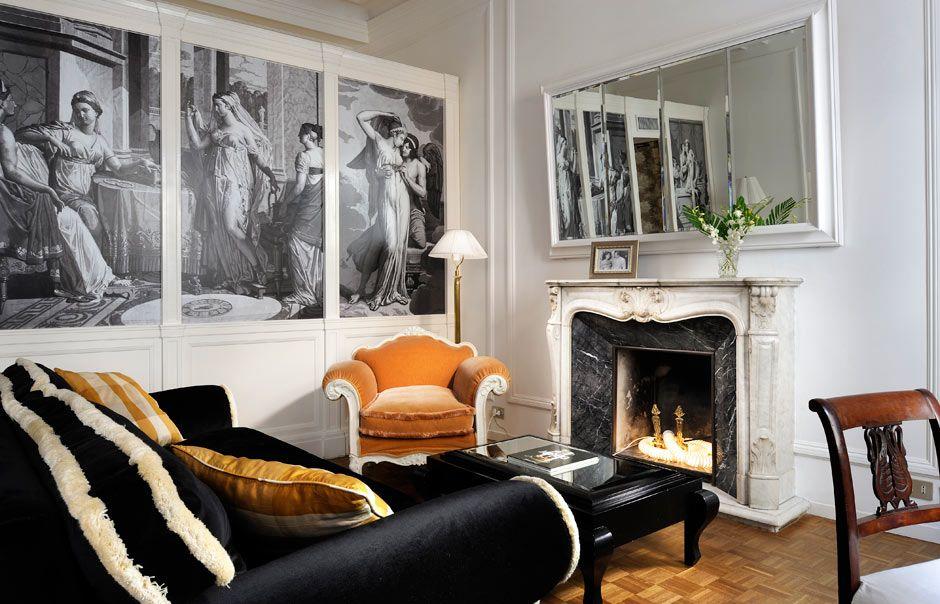 Fireplace Room © Casa Howard Włochy, Santorini, Europa