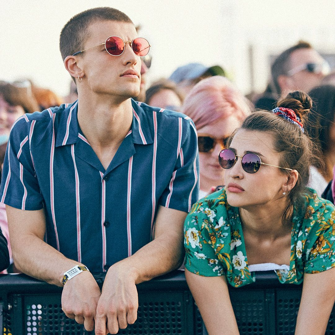22ed3f3706 Are you a front stager or an in-the-crowd type  What s your Ray-Ban Beat  festival style