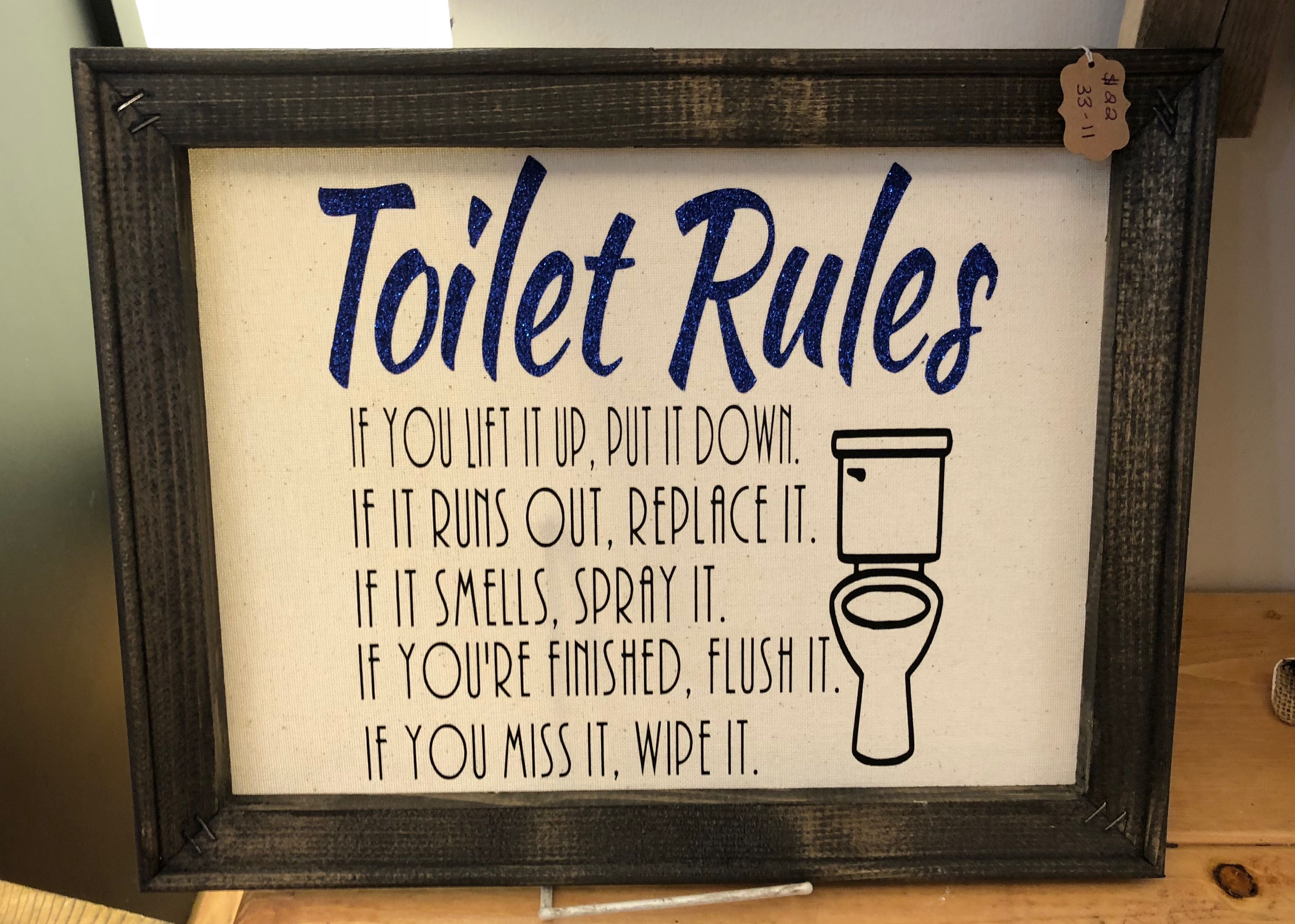 Funny bathroom quote sign Bathroom quotes funny, Sign