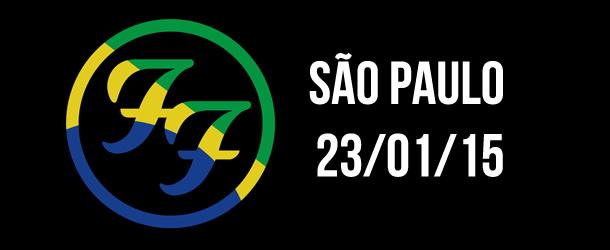 Vitrola em Brasa : AQUECIMENTO -  Foo Fighters em São Paulo.