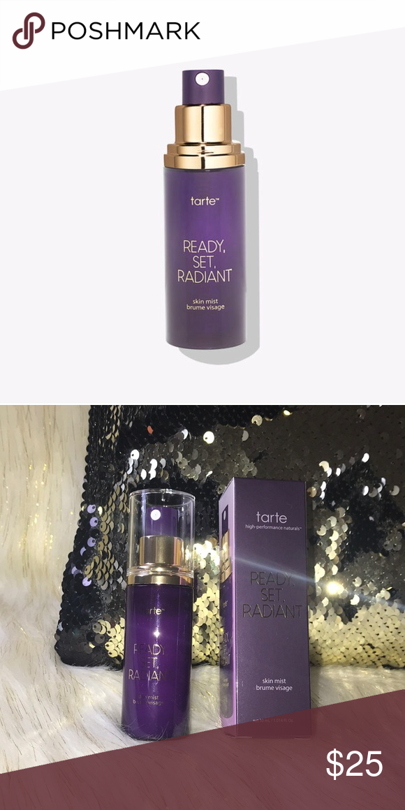 50💜Tarte ready, set, radiant skin mist 💜AUTHENTIC•BNIB