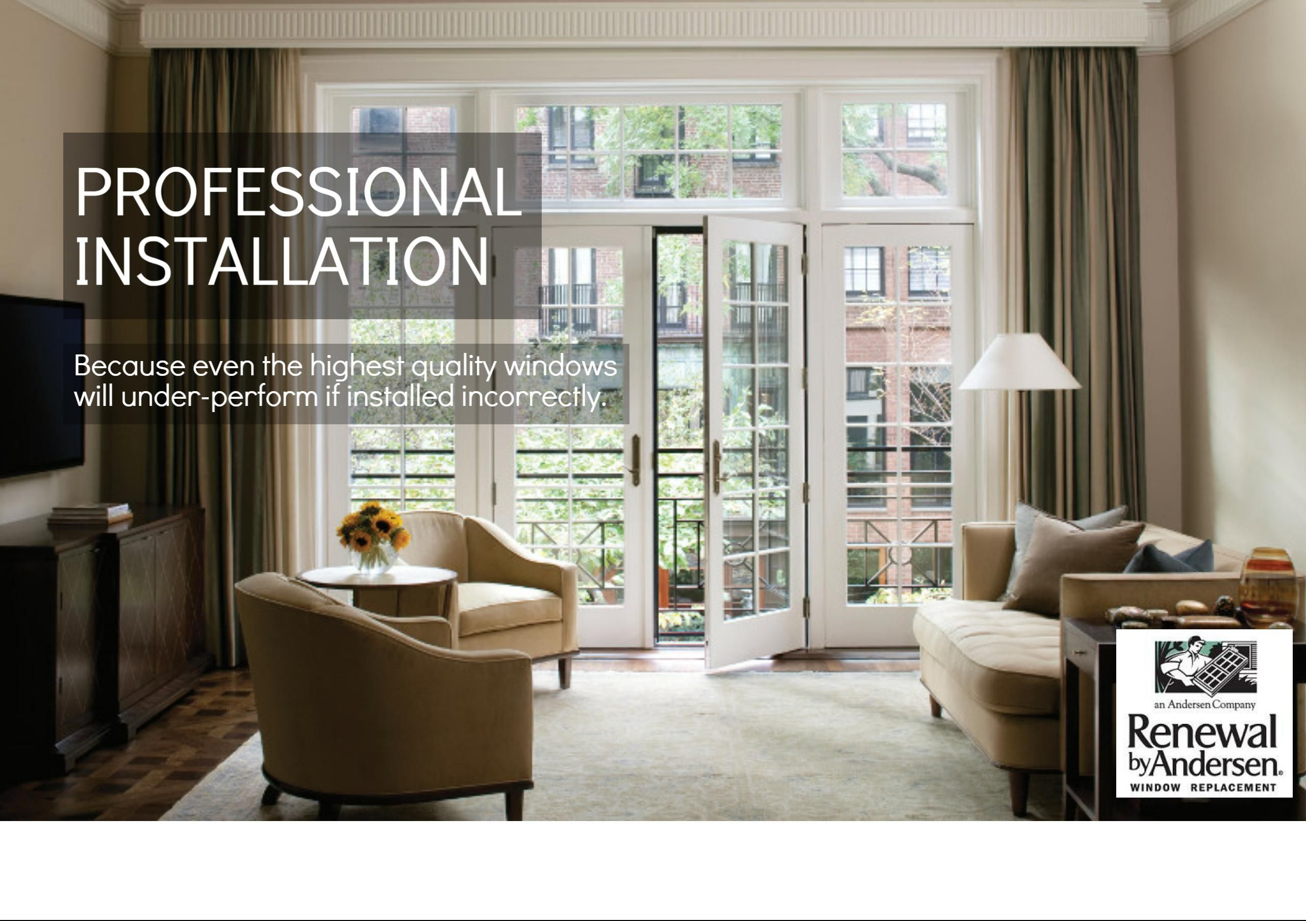 Our window installation professionals are experts and masters at ...
