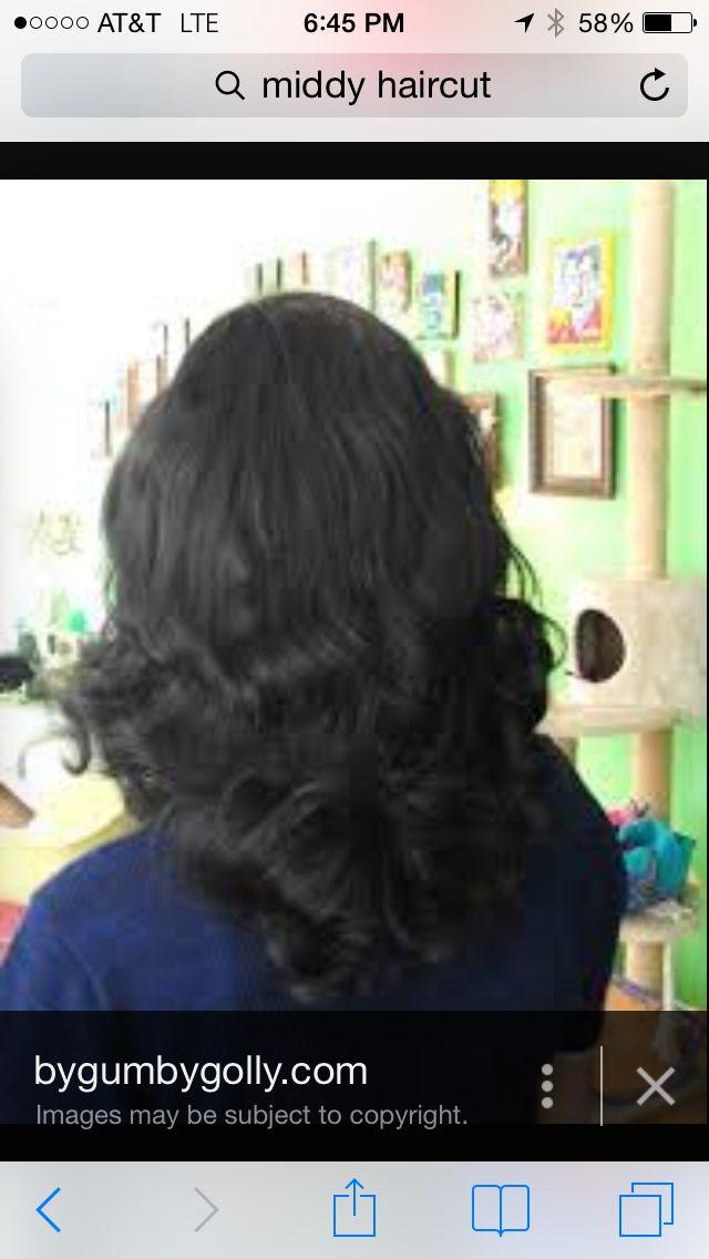 Middy Inspired Hair Cut Love The Length Haircut Pinterest
