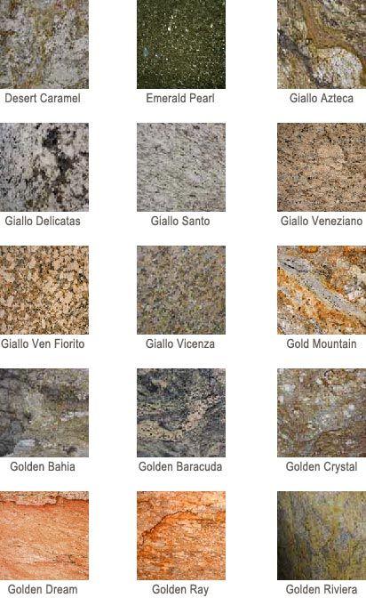 Granite Colors Granite Countertops Granite Colors Countertop Colours
