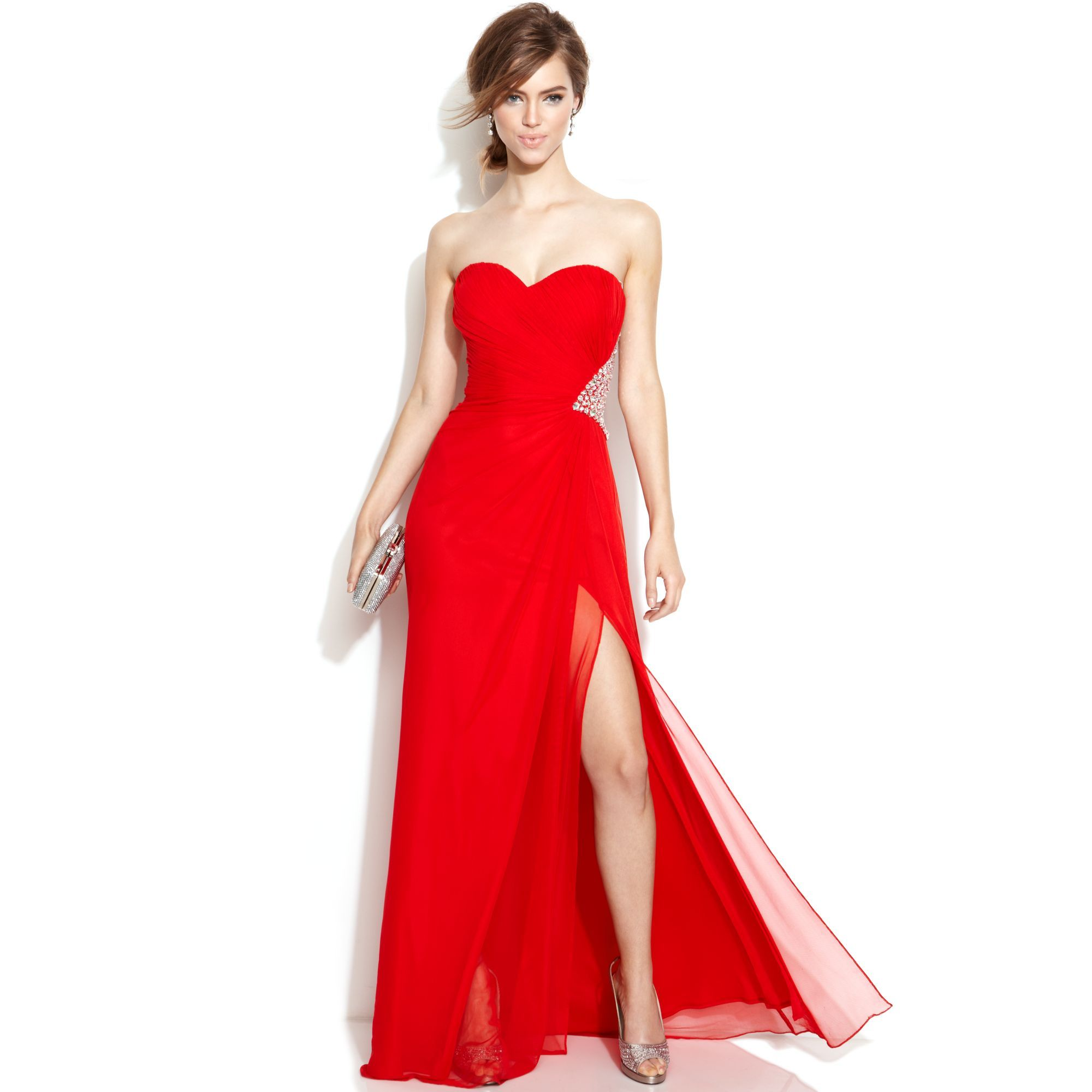 Red prom dresses plus size xscape dresses pinterest red prom