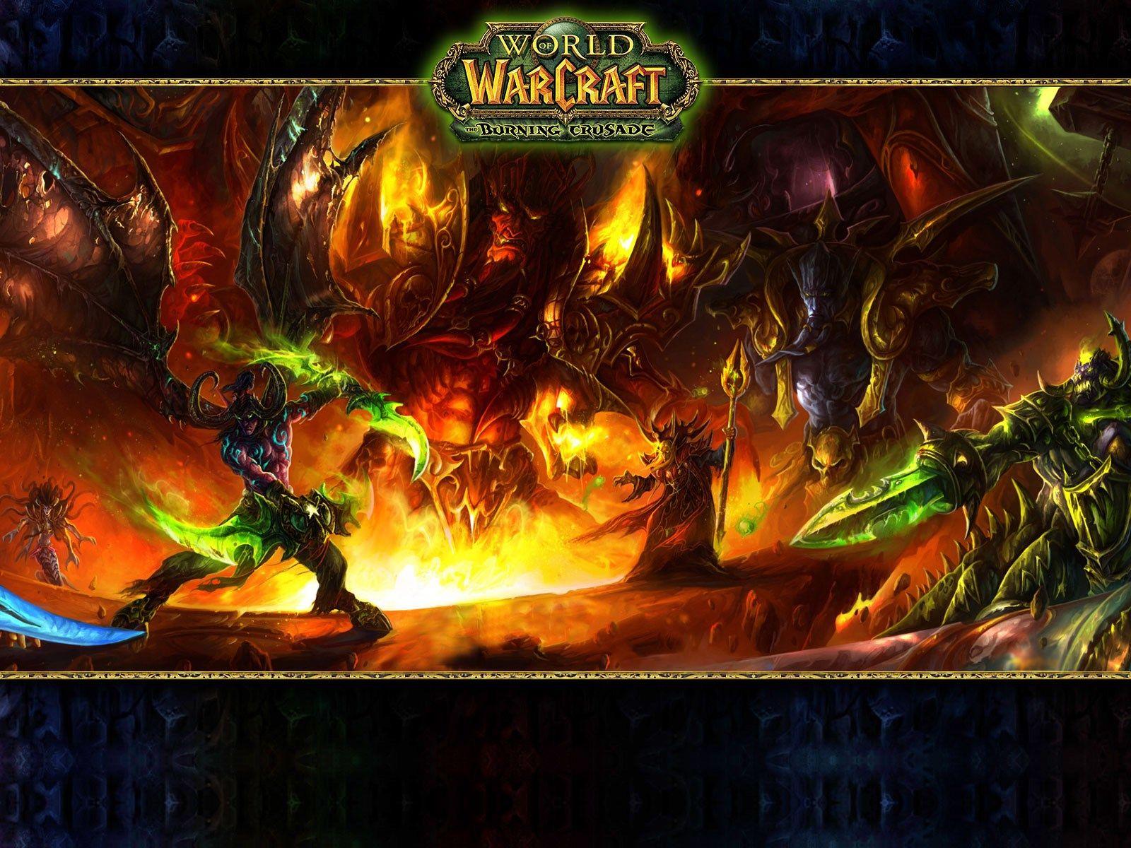 Windows Wallpaper World Of Warcraft The Burning Crusade