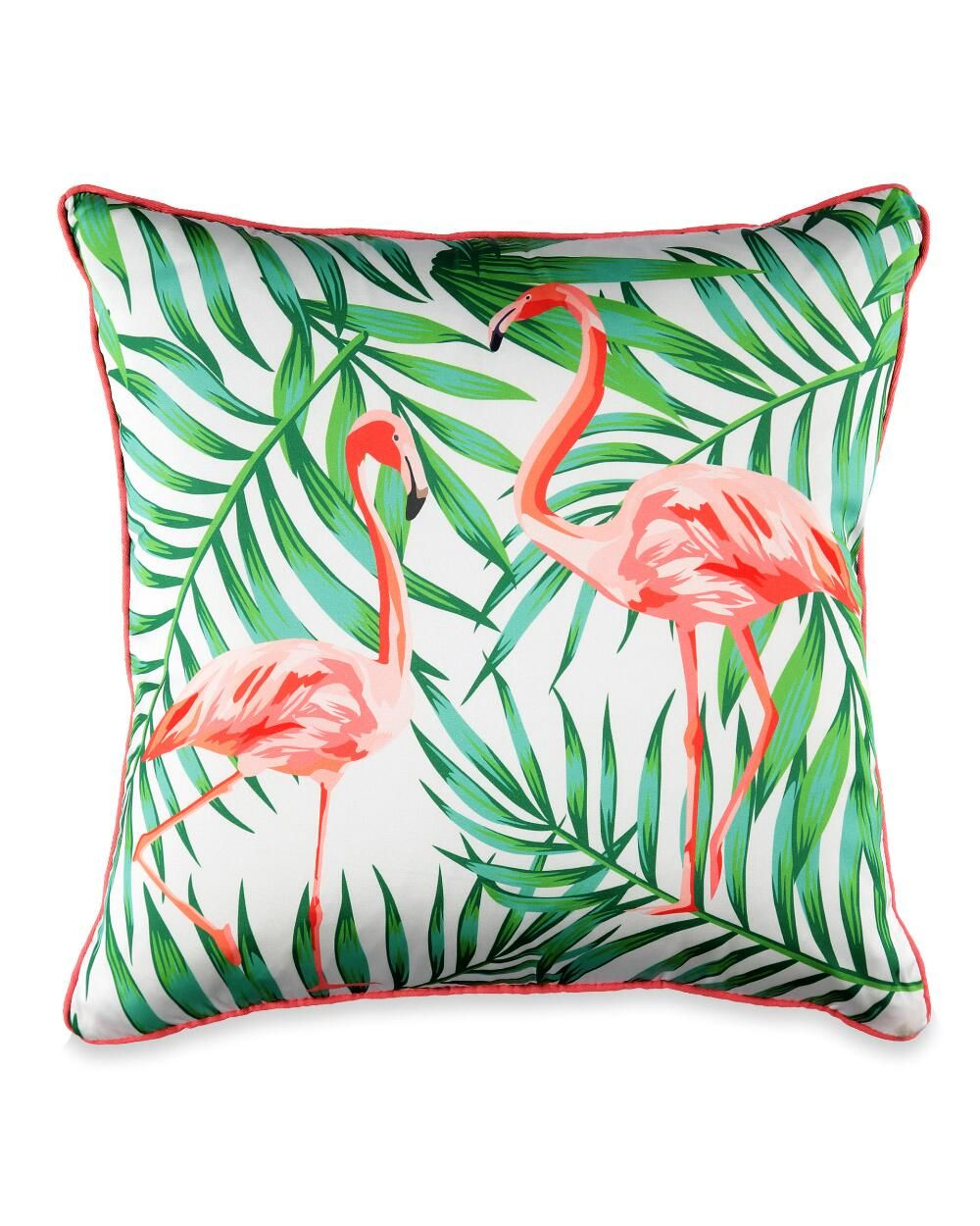 Green Tropical Plant Pillow Case Cactus Palm Leaf Pink Flamingo Pineapple Decoration Pillow Home Living Room Sofa Cushion Cover Home Textile