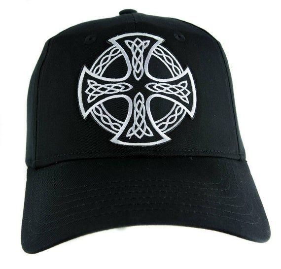 Celtic Iron Cross Hat Baseball Cap Alternative Clothing Sons of Anarchy Biker - DYS-EPP1388-CAP -