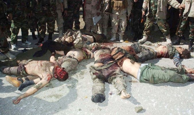 """مقتل 25  """"داعشيا""""وتدمير اوكارهم والياتهم خلال عمليات فجر الكرمة"""