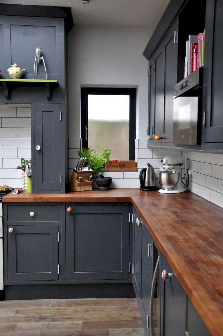 55+ BLACK KITCHEN CABINETS DESIGN images