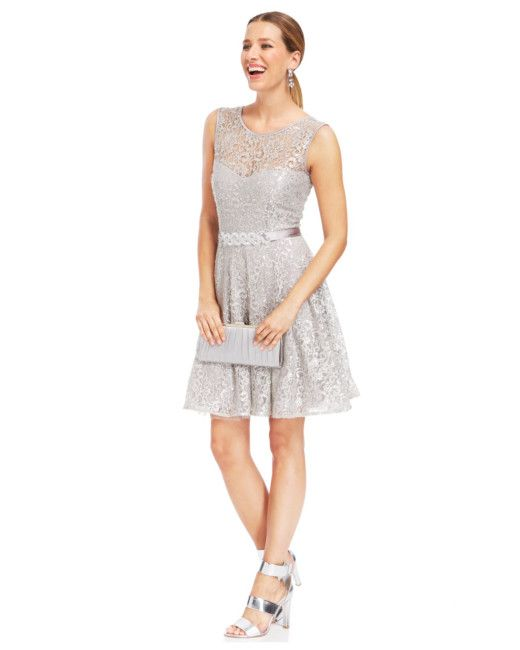 Betsy and adam black lace dress