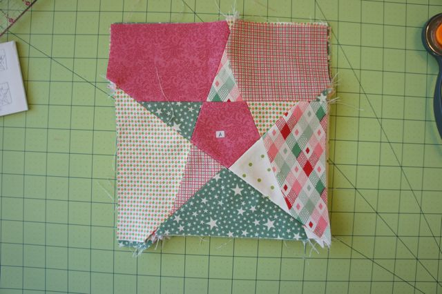 Tutorial 60 Point Star Quilt Block I Made One Of These In Red Fascinating 5 Point Star Quilt Pattern