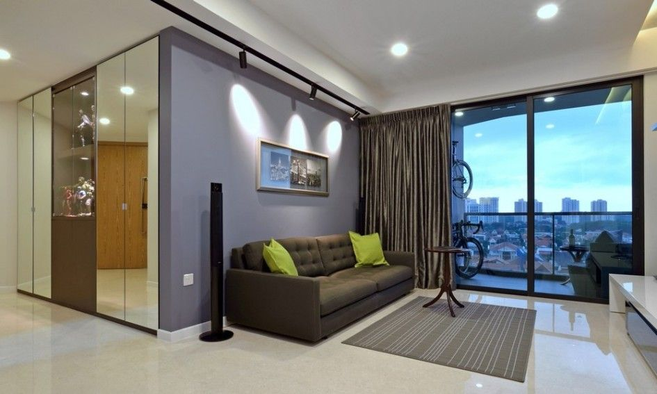 Sandavy Fetching Minimalist Apartment In Singapore With Extensive City Views Design Personable Modern Home Ideas Green
