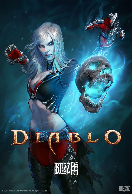 Blizzcon 2011 Official Diablo III 3 Signed Poster | eBay  |Diablo Iii Poster