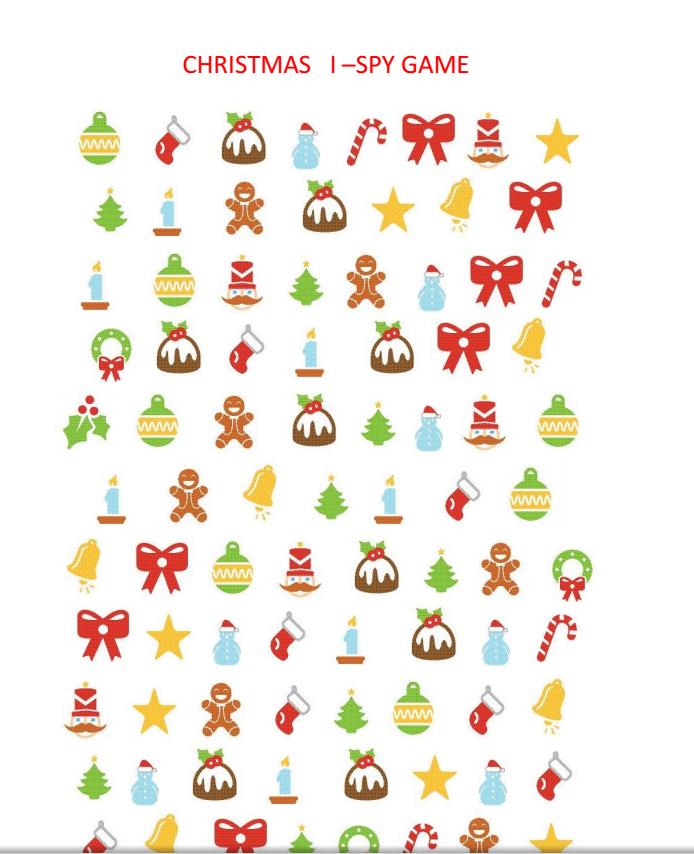Parenstlandgr Christmas I Spy Free Printable Free Printables Free Christmas