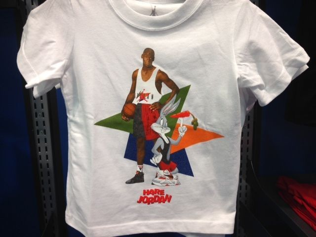dfdc824db7f6 Nike Air Jordan Retro VII 7 HARE Bugs Bunny Lola White toddler youth shirts  S-XL  Jordan  Everyday