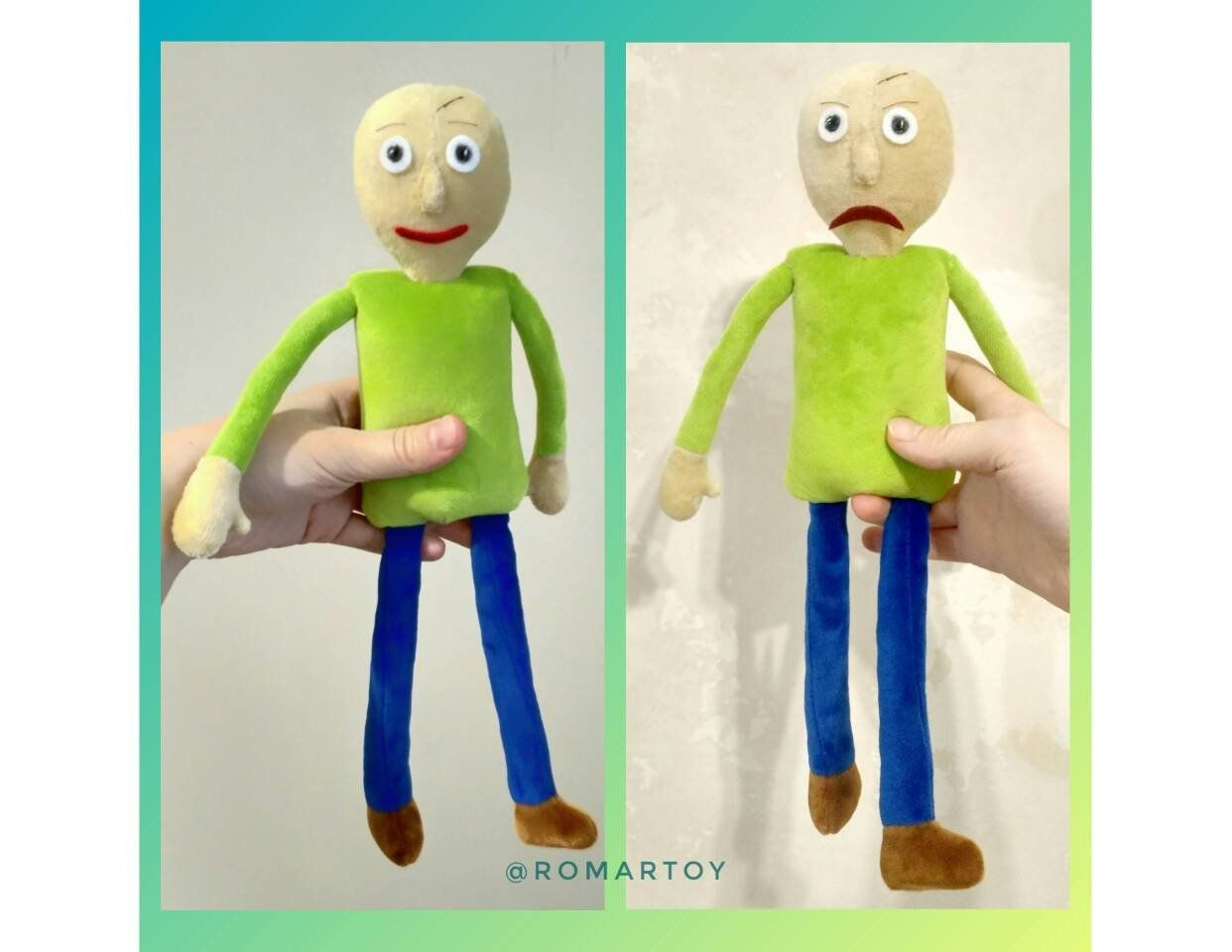 Baldi S Basics In Education And Learning Unofficial Plush Toy