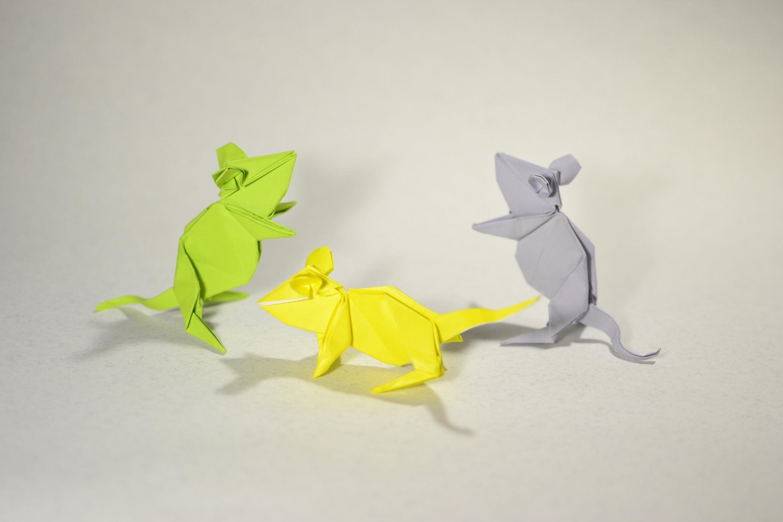 origami Mouse by Kasahara Kunihiko - Yakomoga Origami ... - photo#12