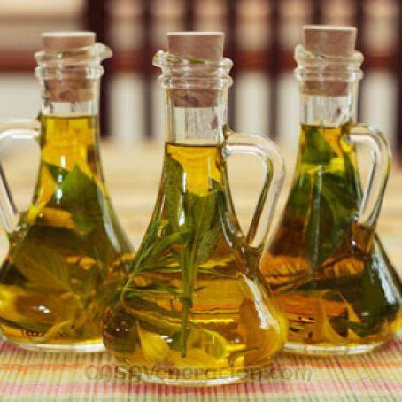Basil-infused olive oil Recipe #oliveoils