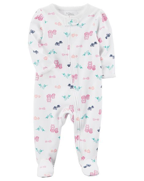 613ab2a6a Certified Organic Cotton Zip-Up Sleep   Play
