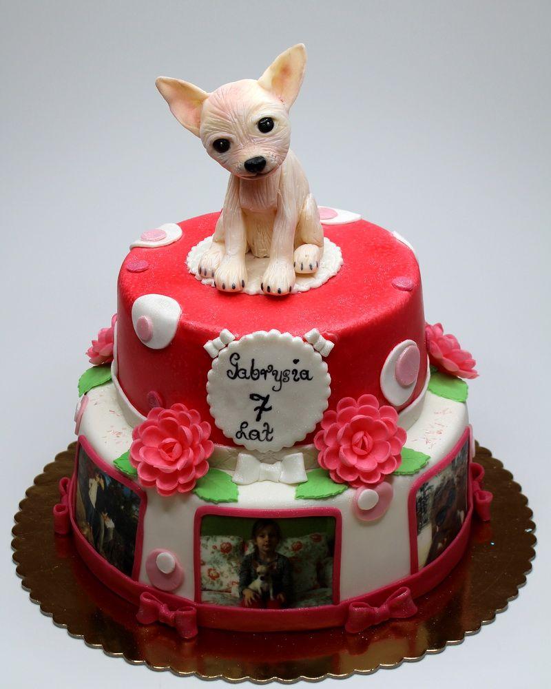 Sensational Chihuahua Birthday Cake Dog Cakes Dog Cake Topper London Cake Funny Birthday Cards Online Unhofree Goldxyz