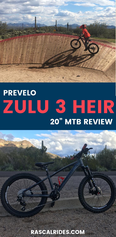 Prevelo Zulu Three 20 Mountain Bike Review Mountain Bike