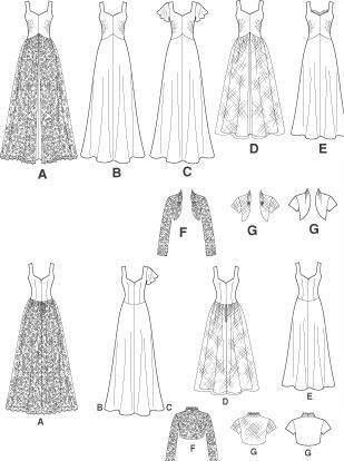 Homemade Wedding Dresses Patterns