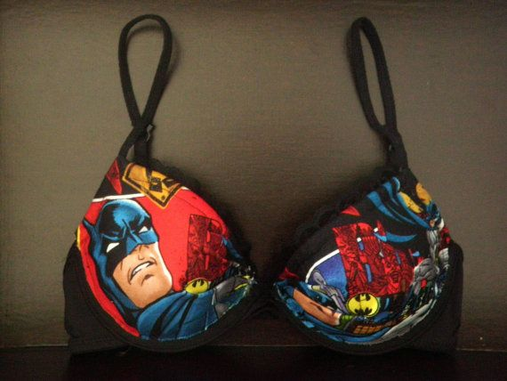 Dark Knight Bra.  I foresee an increase in my lingerie shopping.