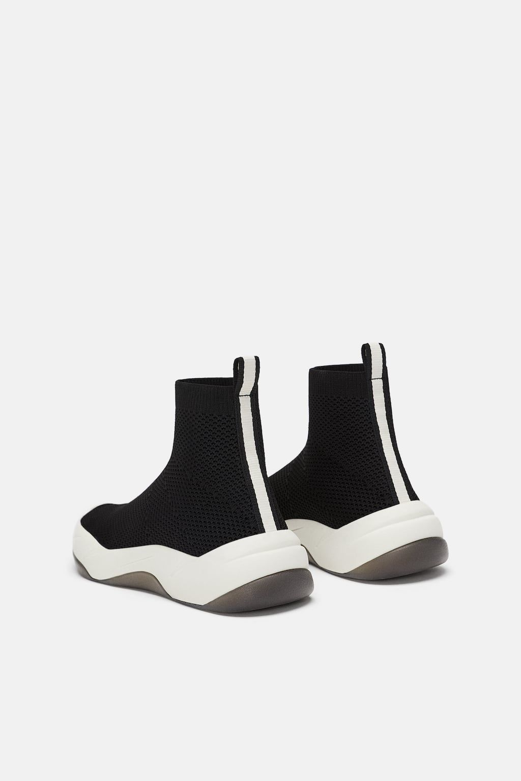 ca32a0ef4 Image 4 of ELASTIC FABRIC ATHLETIC SHOES from Zara