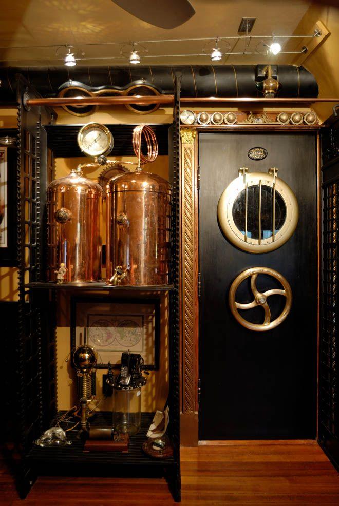 pingl par juliette sur deco en 2018 pinterest steampunk maison steampunk et d co steampunk. Black Bedroom Furniture Sets. Home Design Ideas