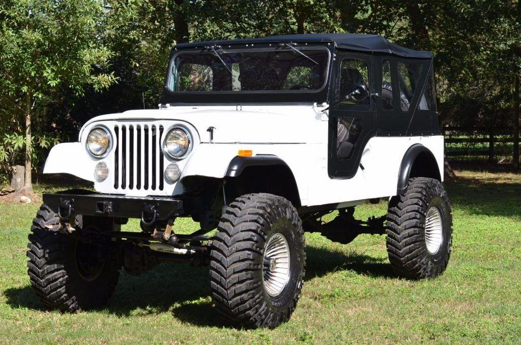 1962 Jeep Cj6 Full Frame Off Restoration Jeep Cj6 Willys Old Jeep