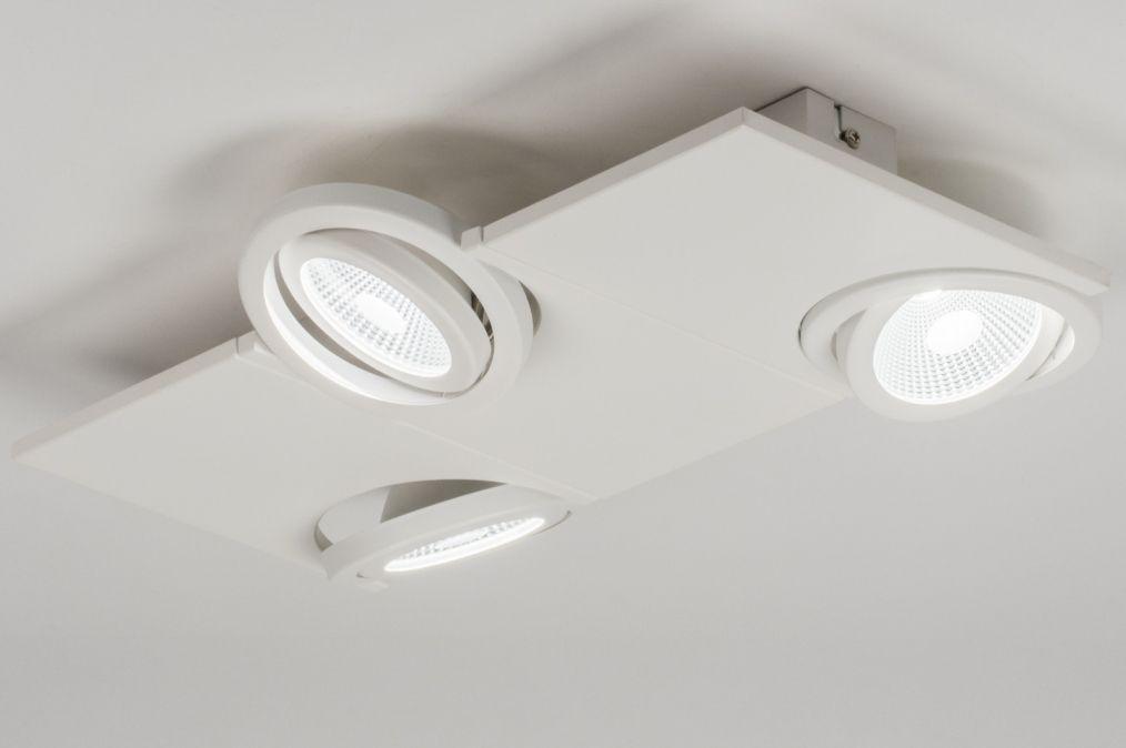 artikel 11060 Apart design, led plafondlamp uitgevoerd in mat ...