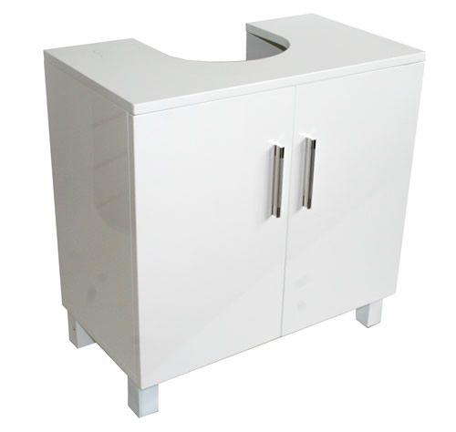 High Gloss Under Sink Storage Unit