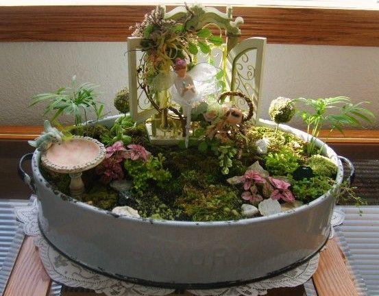 indoor fairy garden - Indoor Fairy Garden