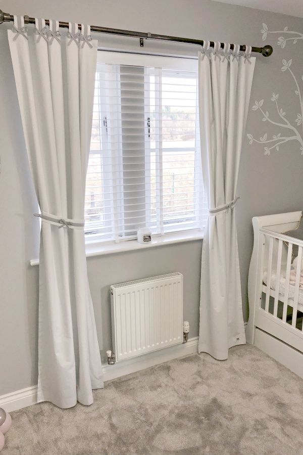 Looking For Simple Yet Stylish Nursery Curtains Discover Our Beautifully Hand Made With Customised Sizes And Bow Colours