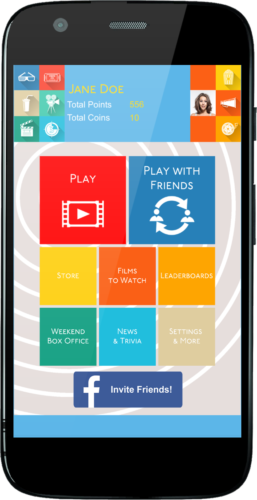 THE FILM QUIZ, The ONLY Mobile Game For Film Buffs Is