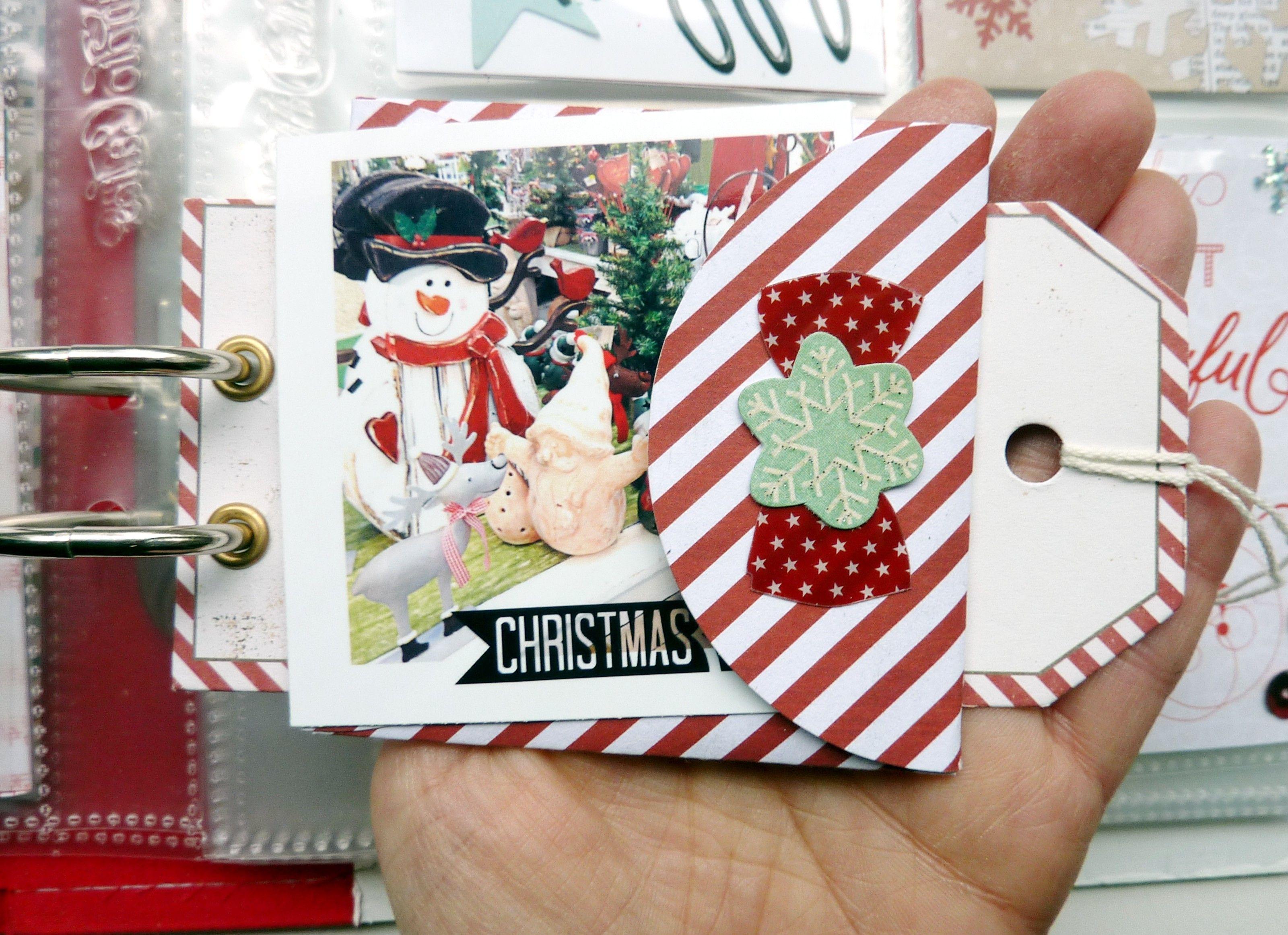 December Daily Mini Album Project Life Seiten von Anke Kramer für ...