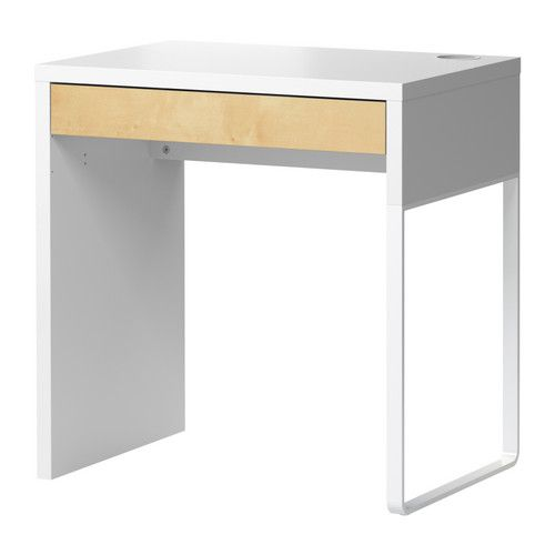 Schreibtisch ikea mikael  MICKE Desk, black-brown | Micke desk, Desks and Birch