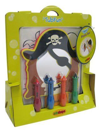 Edushape TubArt - Pirate Set