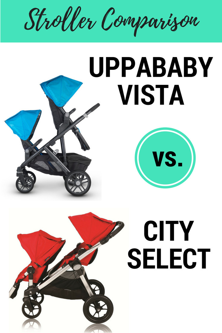 UPPAbaby VISTA vs. City Select | City select, Baby jogger and Car seats