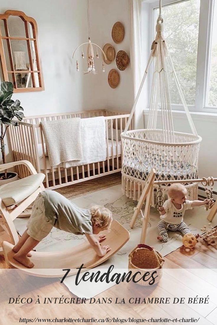 20 tendances déco à intégrer dans la chambre de bébé  Nursery baby