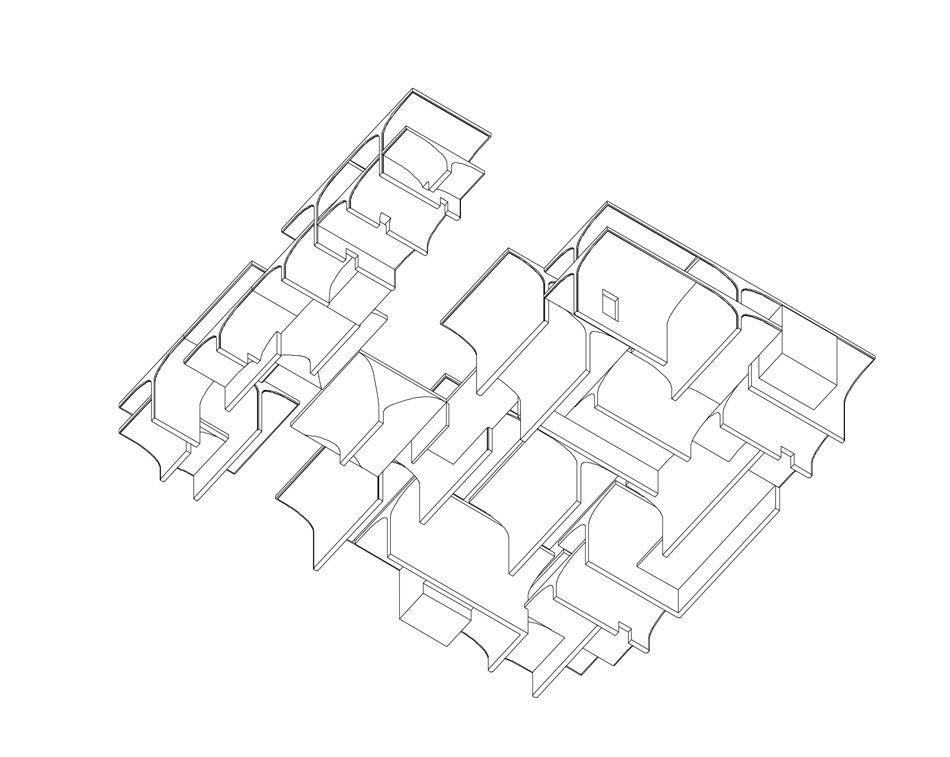 Vaulted Concrete Forms Shape Long Museum West Bund By Atelier Deshaus Museum Museum Plan Simple Line Drawings