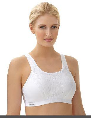 c4586feb4 White bras for large breast Glamorise Women s Double-Layer Custom-Control  Sport Bra Price