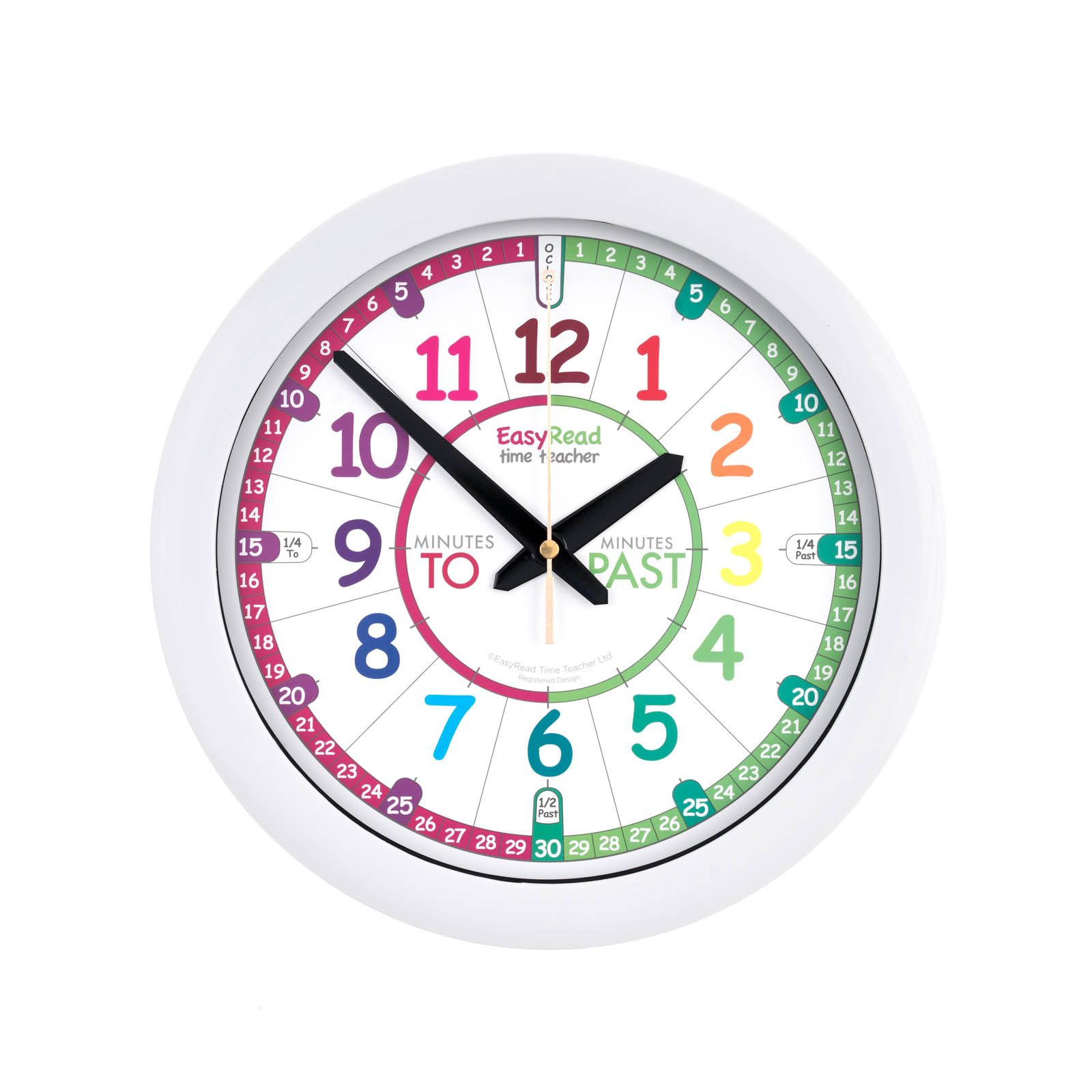 29cm Wall Clocks Childrens Wall Clock Teaching Clock Telling Time