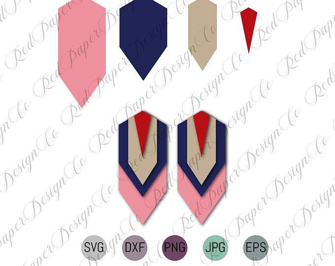 Cricut Earrings SVG, Faux Leather Earrings SVG, Joanna ...