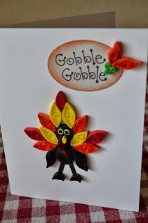 Quilling Ideas: Happy Thanksgiving